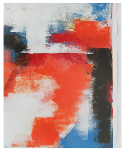 Orange Remix – Fine Art on Paper by Ronald Hunter