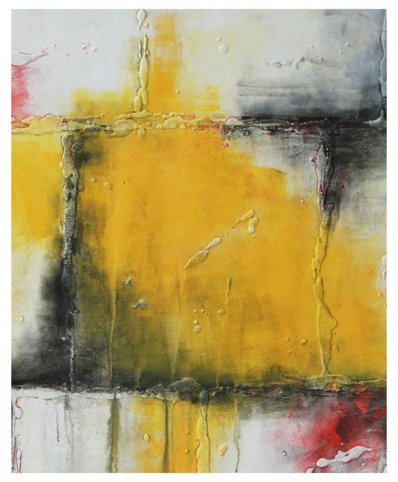 Yellow Square by Ronald Hunter.