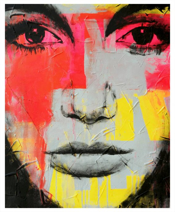 Memories – Pop Art Girl by Ronald Hunter.