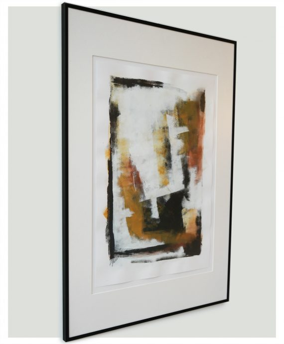Abstract – Fine Art on Paper by Ronald Hunter