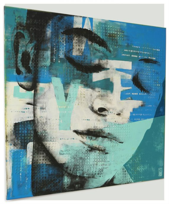 Typopop Face by Ronald Hunter.