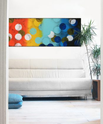Colorful Horizontal Painting