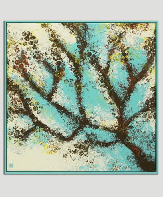 abstract tree painting