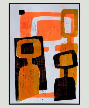 abstract family painting