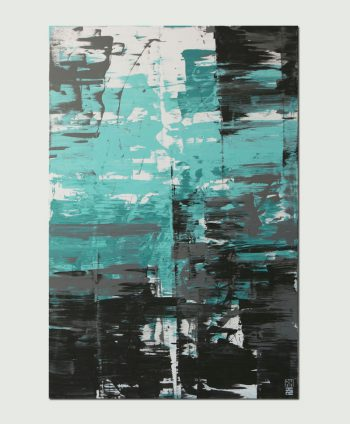 blue painting modern