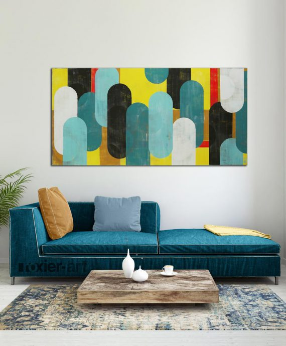 bright popart painting