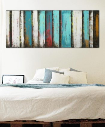 buy horizontal painting abstract panels ronald hunter