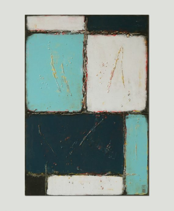 buy turquoise painting