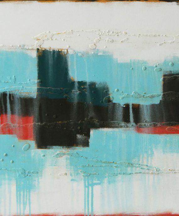 Abstract Cityscape, by Ronald Hunter