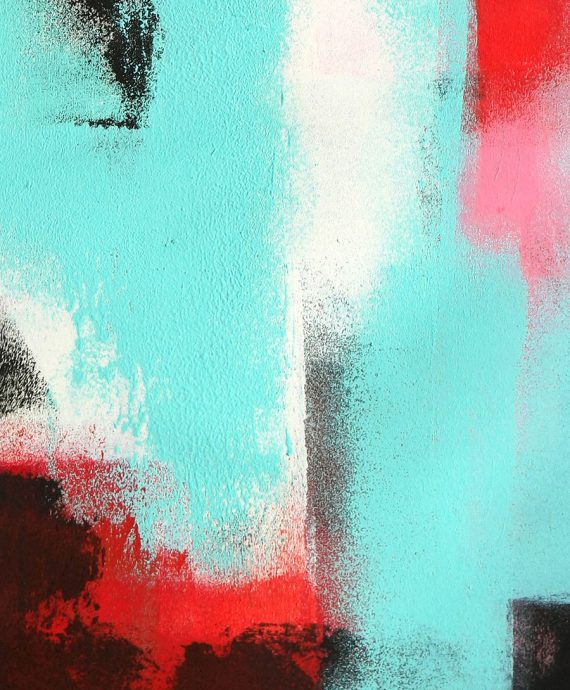 Abstract no 6 – Art on Paper by Ronald Hunter