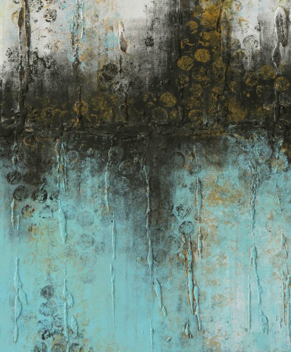 Original Abstract Painting, by Ronald Hunter.