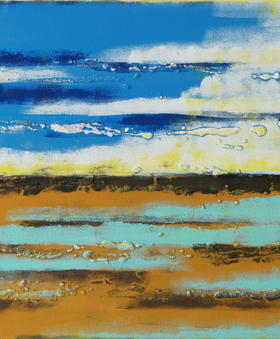 A beautiful abstract sea view landscape, by Ronald Hunter