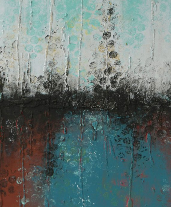detail_original_painting_boiling_bubbles_brown_rhunter