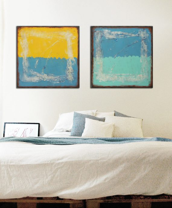 diptych painting