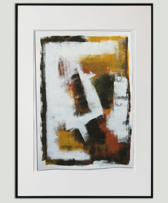 Abstract no. 3. Fine art on Paper by Ronald Hunter