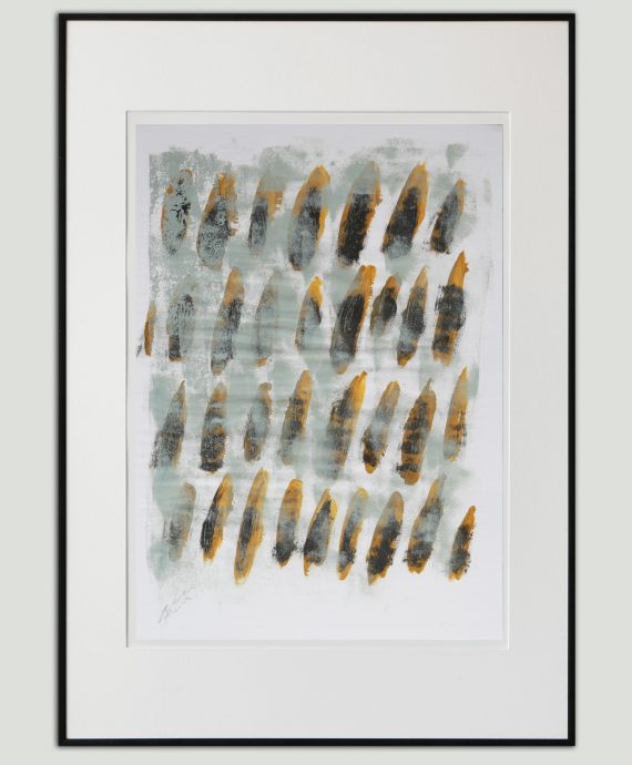 Natural Dots – Fine Art on Paper by Ronald Hunter