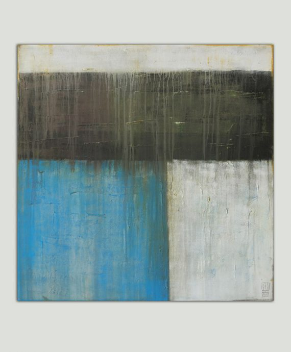 Architectured no. 1, abstract painting by Ronald Hunter