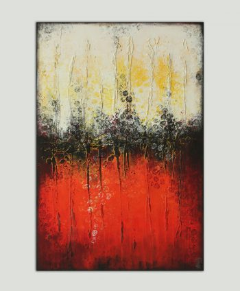 vertical red painting