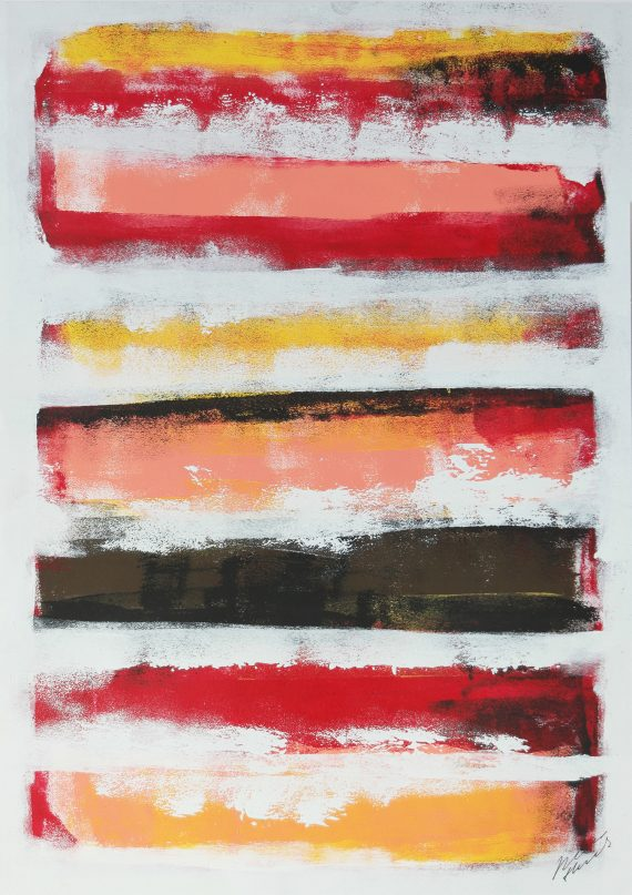 Stacked Colors – Fine Art on Paper by Ronald Hunter