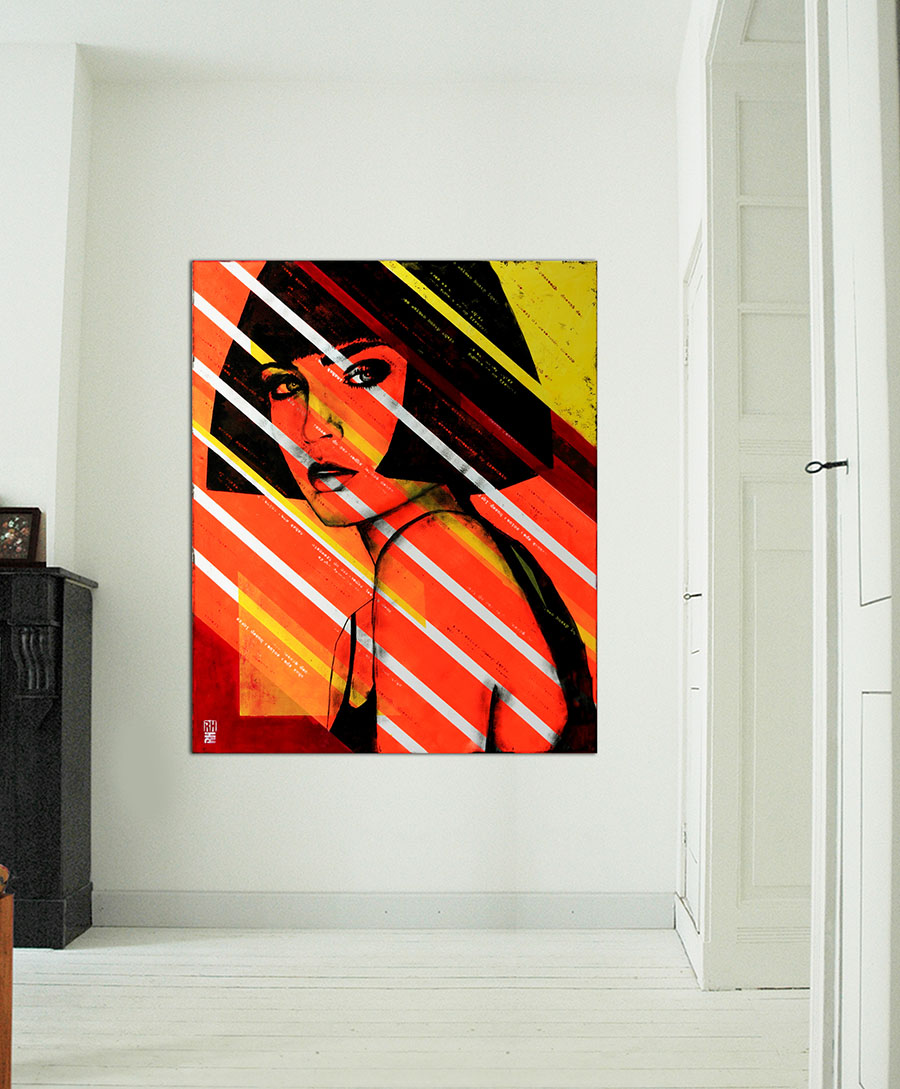 custom art for interior design