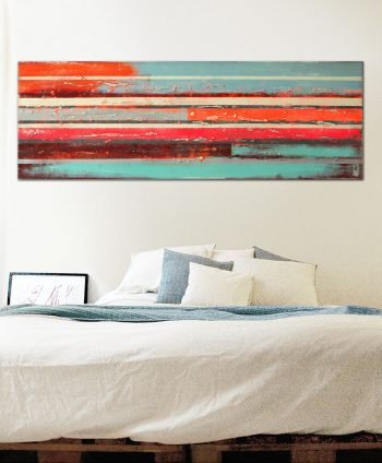 large horizontal painting
