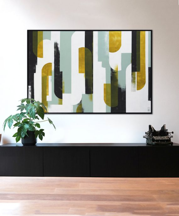 large graphic painting