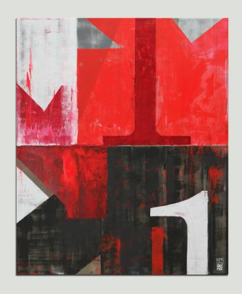 large red painting