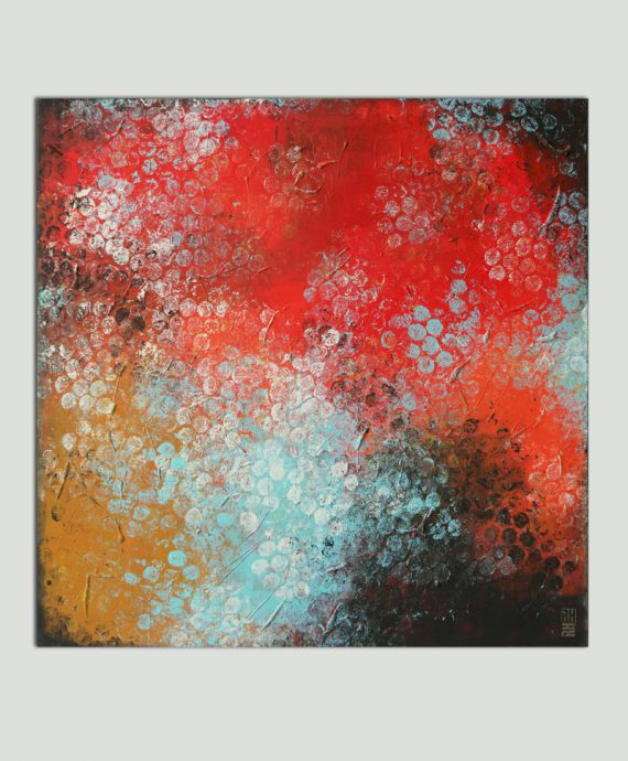 large square painting