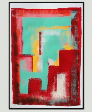 small red painting