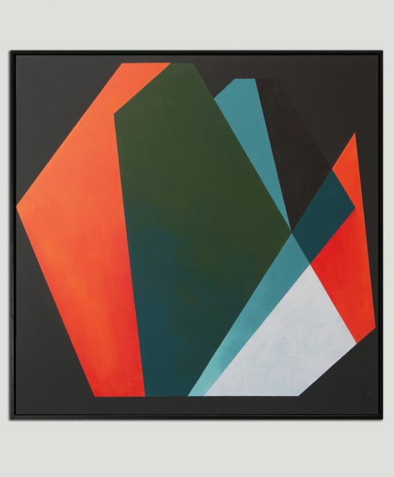 modern square painting