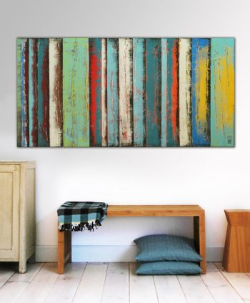 original large painting panels ronald hunter