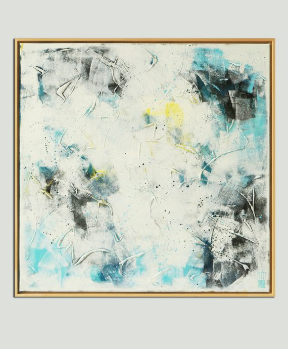 Original abstract painting by Ronald Hunter
