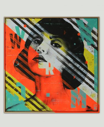 pop art modern painting