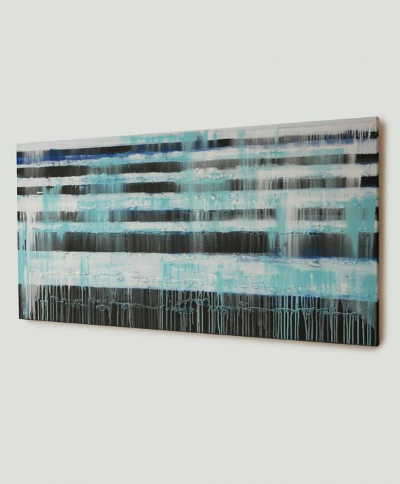 Modern painting, abstract landscape by Ronald Hunter