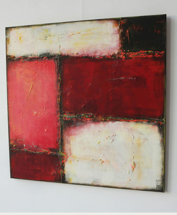 Color Blocks painting, by Ronald Hunter.