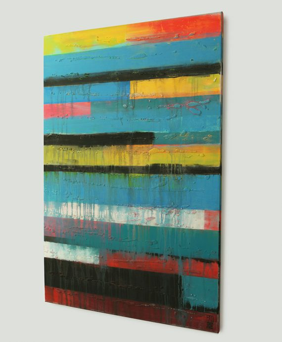 Panels Color on Color, made by Dutch artist Ronald Hunter