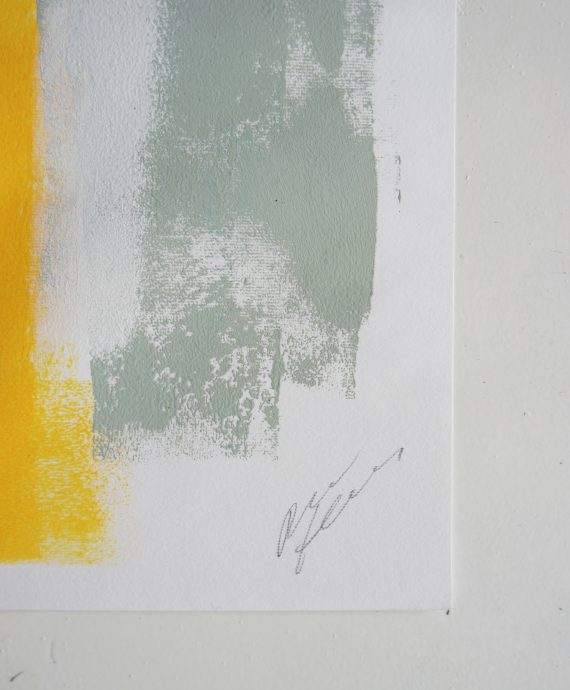 Grey Structure – Fine Art on Paper by Ronald Hunter