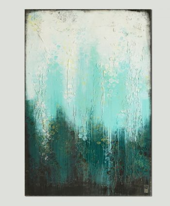 vertical abstract painting