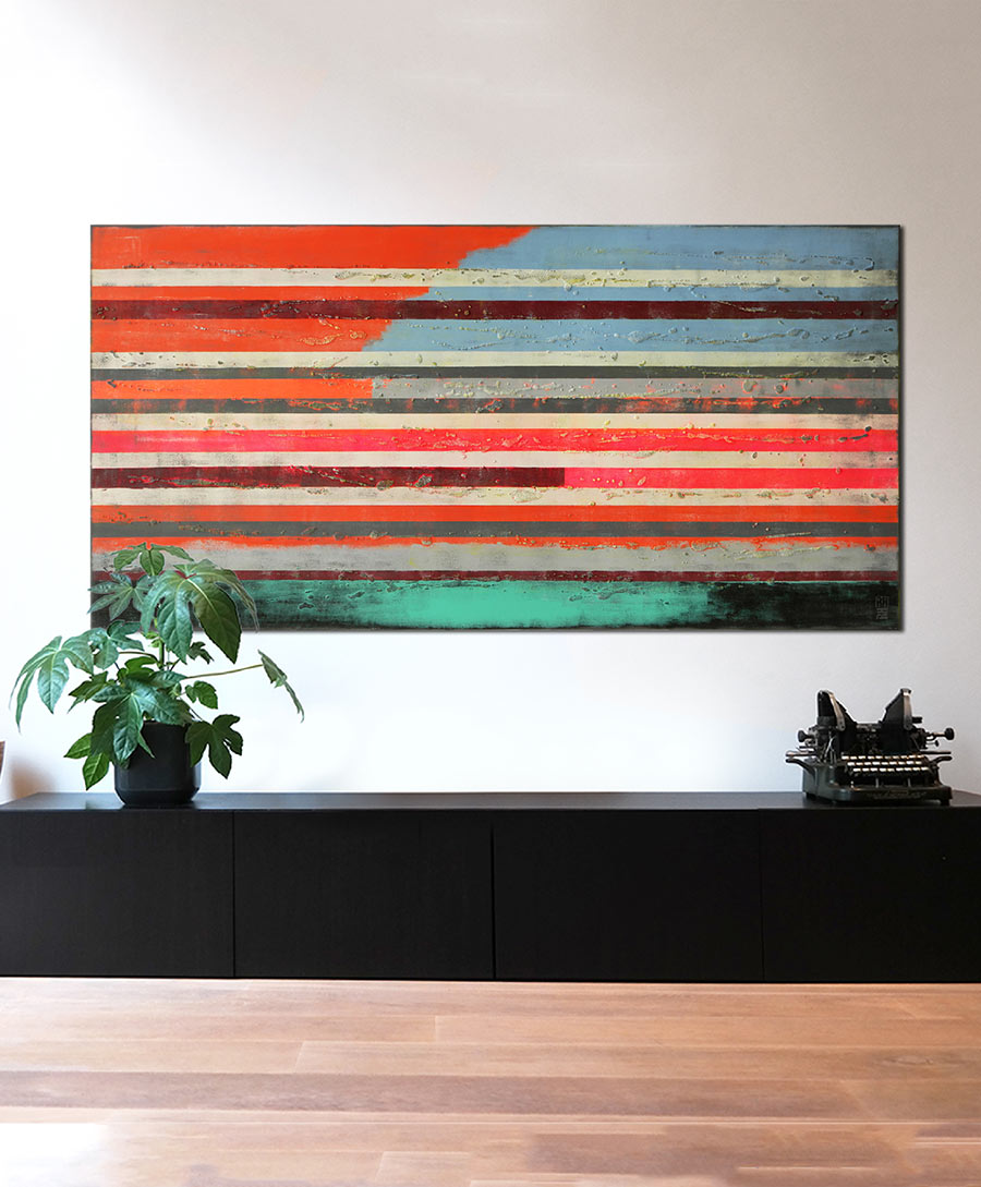 xl abstract painting