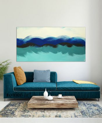 xl blue painting