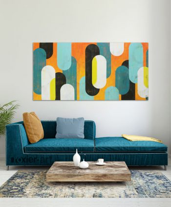 yellow popart painting